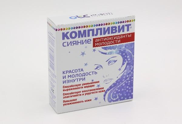 Компливит Сияние Антиоксид Молодости капс 30 БАД