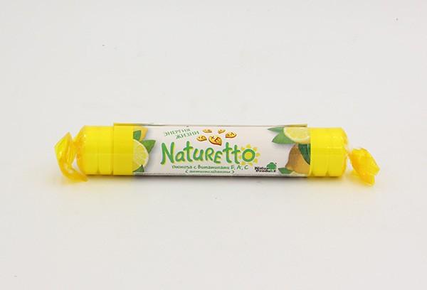 Натуретто витамины-антиокс (лимон) тбл 39г БАД
