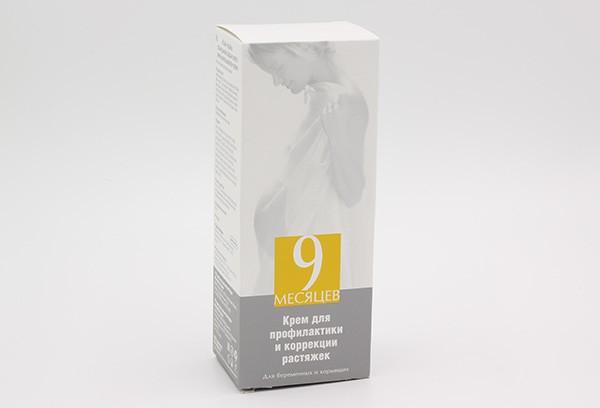 9 Месяцев Крем для профикактики и коррекции растяжек 150мл