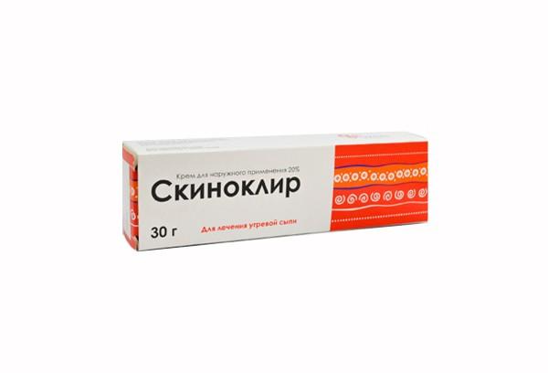 Скиноклир 20% крем д/наруж прим 30г