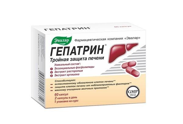 Гепатрин капс 60 БАД