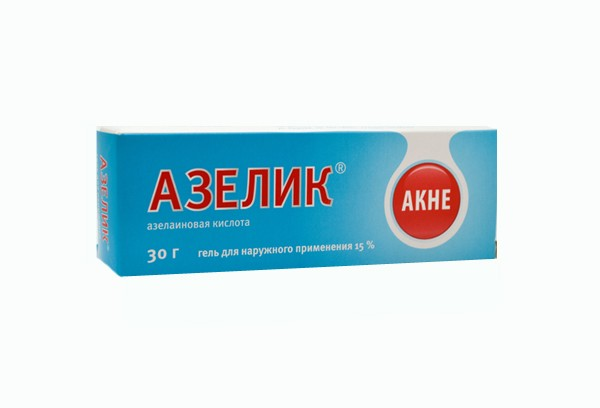 Азелик 15% гель д/наруж прим 30г