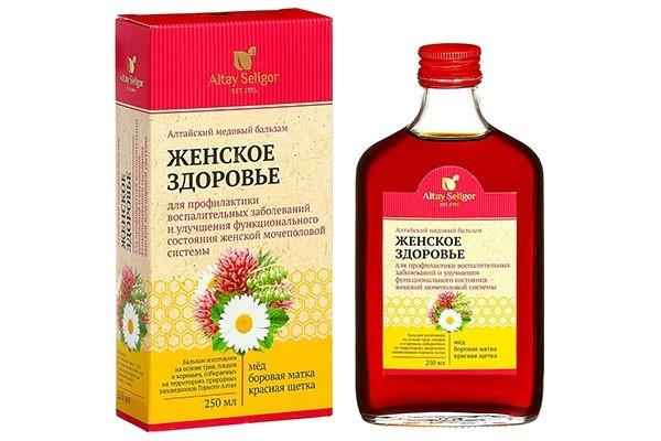 Бальзам Алтайский медовый Женское здоровье 250мл