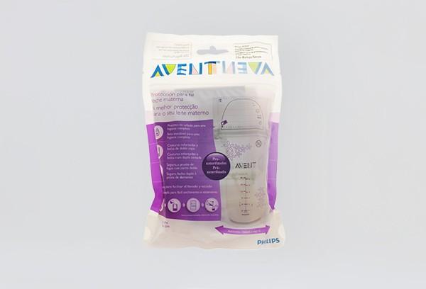 Авент Пакеты для хранения грудного молока 180мл 25 80250/603/25