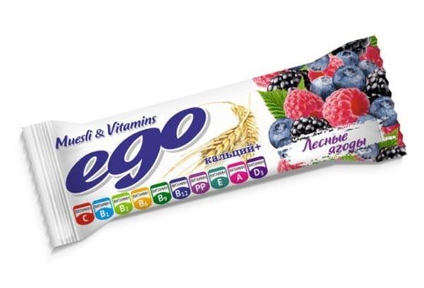 ДП Батончик мюсли Его лесн ягоды в йогурте 25г