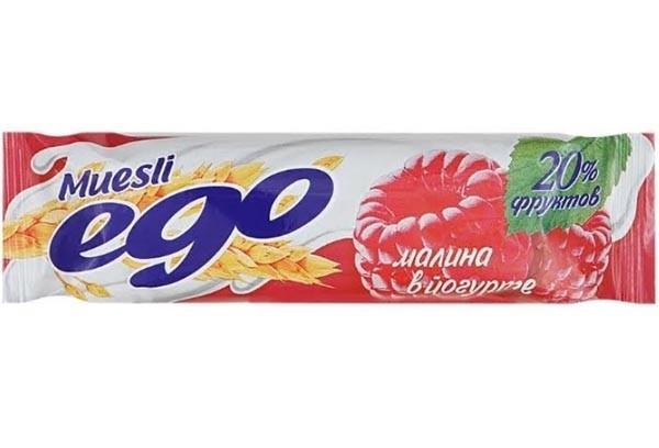 ДП Батончик мюсли Его малина в йогурте 25г