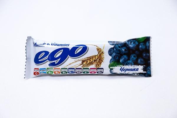 ДП Батончик мюсли Его черника в йогурте 25г