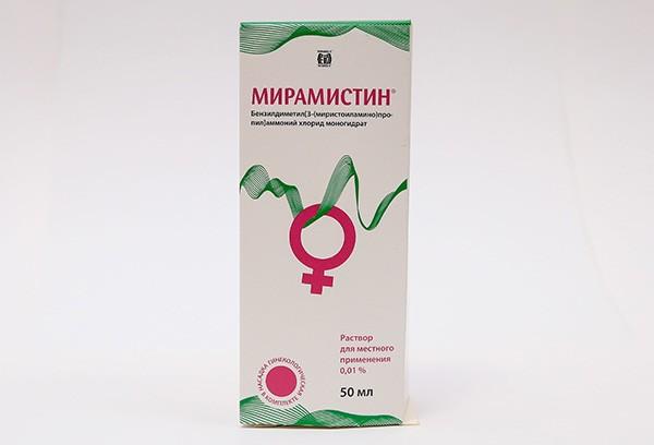 Мирамистин 0,01% р-р д/местн прим 50мл +насадка гинекологическая