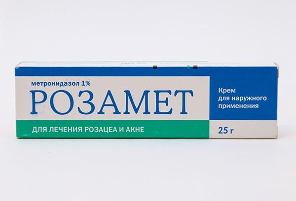 Розамет 1% крем д/наруж прим 25г