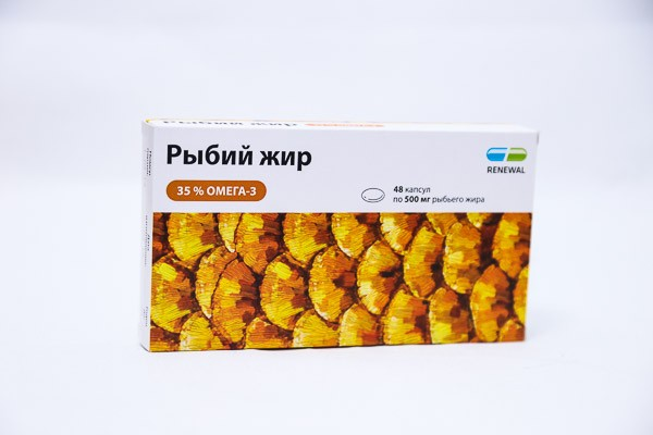 Рыбий жир  капс 48 БАД /RENEWAL/