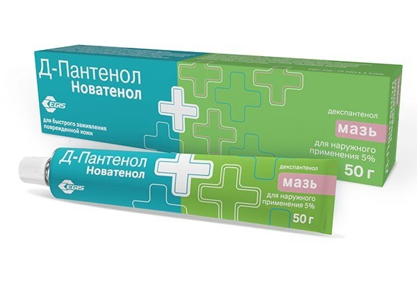 Д-Пантенол (Новатенол)5% мазь д/наруж прим 50г /Ядран/