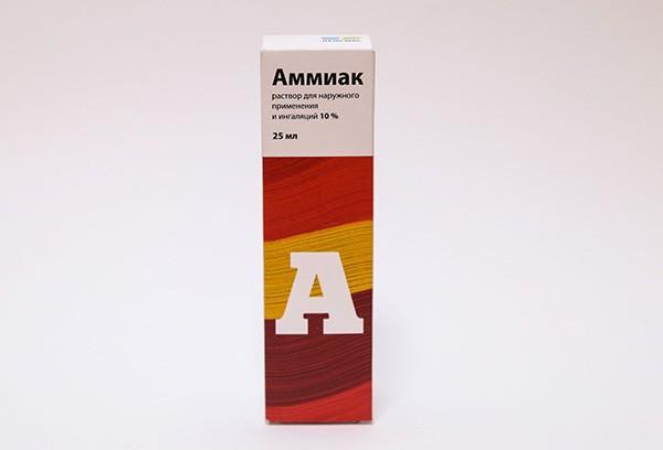 Аммиак 10% р-р д/наруж прим и ингал 25мл /RENEWAL/