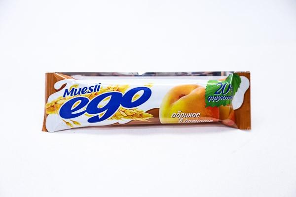 ДП Батончик мюсли Его абрикос в йогурте 25г