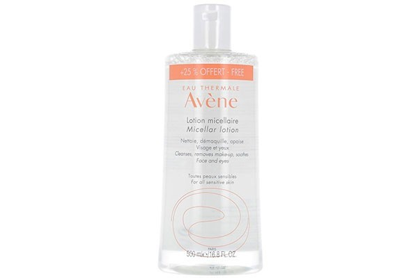Авен Лосьон мицеллярный для очищения кожи удаление макияжа 500мл