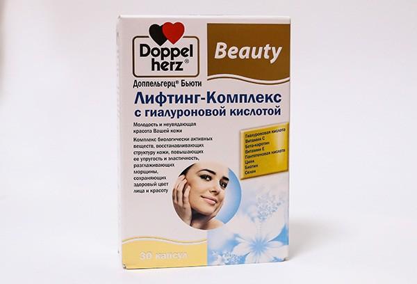 Доппельгерц Бьюти лифт компл с гиалур капс 30 БАД
