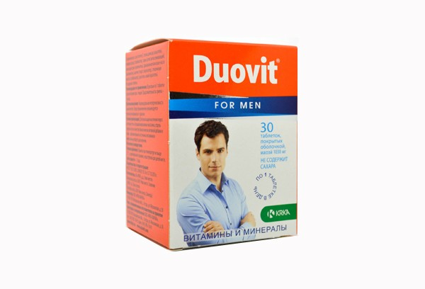 Дуовит для Мужчин тбл п/об 30 БАД