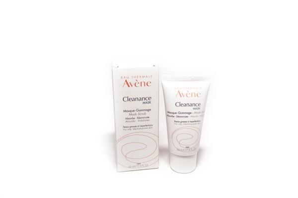 Авен Клинанс маска для глубокого очищения проблемной жирной кожи 50мл