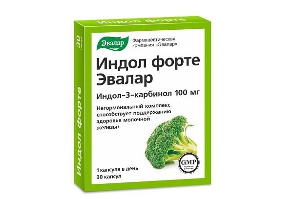 Индол Форте капс 30 БАД