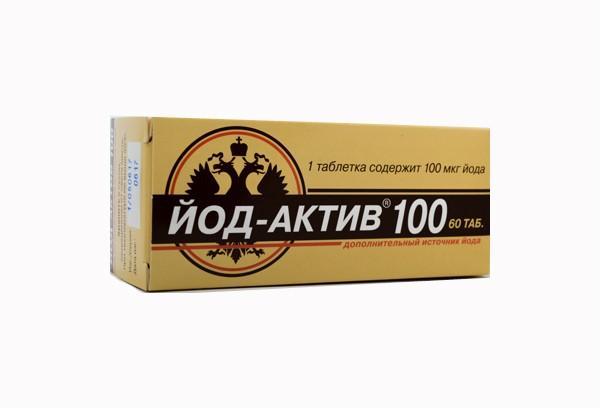 Йод-Актив 100мкг тбл 60 БАД