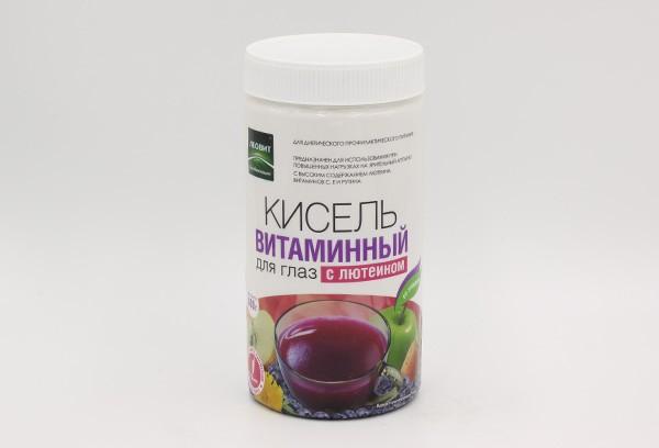 Кисель Леовит витамины для глаз с лютеином 400г