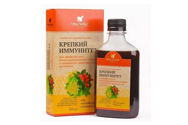 Бальзам Алтайский медовый Крепкий иммунитет 250мл