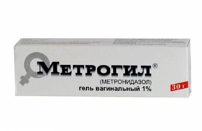 Метрогил 1% гель 30г
