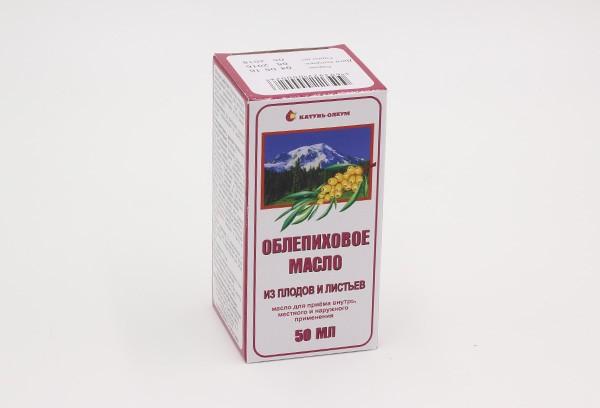 Облепиховое масло фармакопейное 50мл