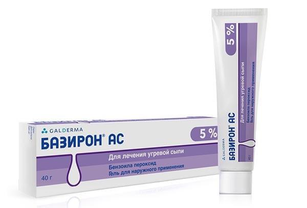 Базирон АС  5% гель д/наружного прим 40г