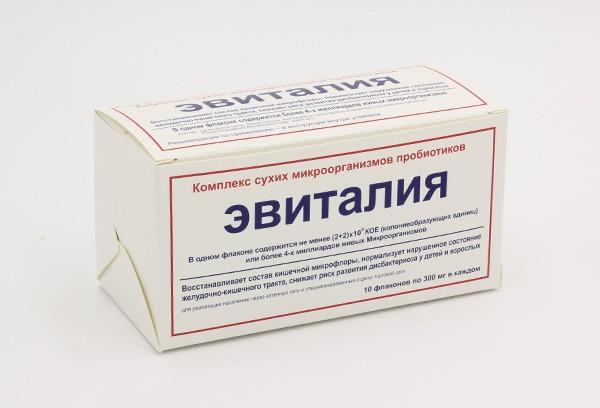 Эвиталия закваска 300мг фл 10 БАД